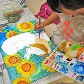 絵画造形教室アトリエリブル