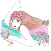 MAKI_flowering_girl